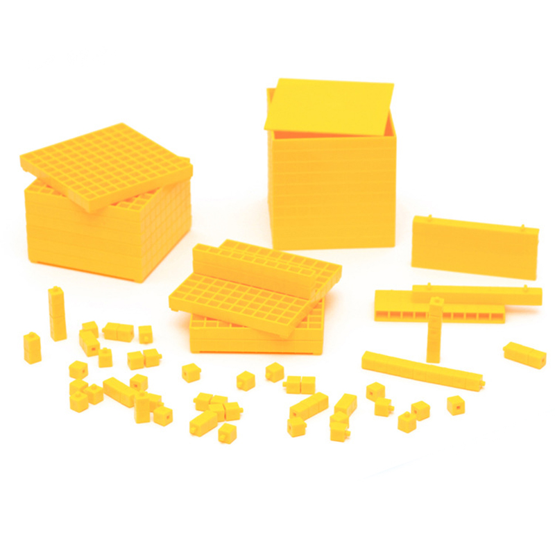 Baby Toys Montessori Mathematics Decimal Symbols Decimalism Cube Set Learning Educational Toys for Toddlers Juguetes Brinquedos