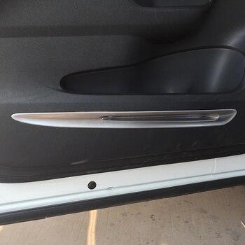 Car Inner Door Trim Inside Door Plate Auto Accessories Decoration Trim For Honda for Crv Cr-V 2015 Abs Chrome 4pcs Per Set