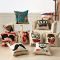 10 Kind Comfortable Cushion Cotton Pillow Square Pillow Fashion Trend Bolster Living Room Bedroom Office Pillow