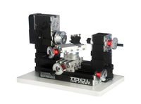 Big Power Mini Metal Rotating Lathe Motor Larger Processing Radius DIY Tools As Children S Gift