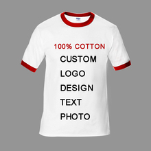 caee4afb Customized Logo Photo Print T Shirt Mens Blank Tees T-shirt Fitness Tee  Shirt Mens