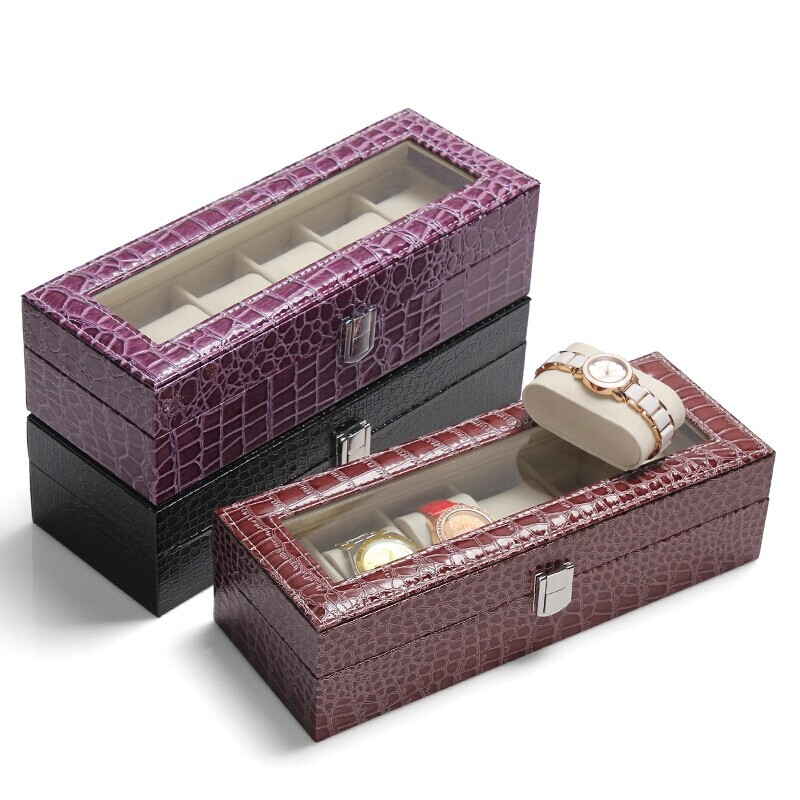 Wedding Gift Storage Box : Watch Case Jewelry Storage Box Watch Decoration Wedding Gift Organizer ...