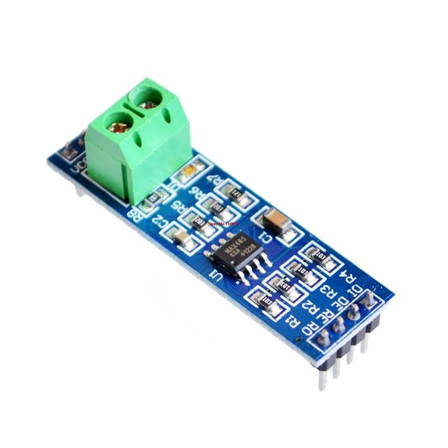 10PCS/LOT MAX485 module, RS485 module, TTL turn RS - 485 module, MCU development accessories