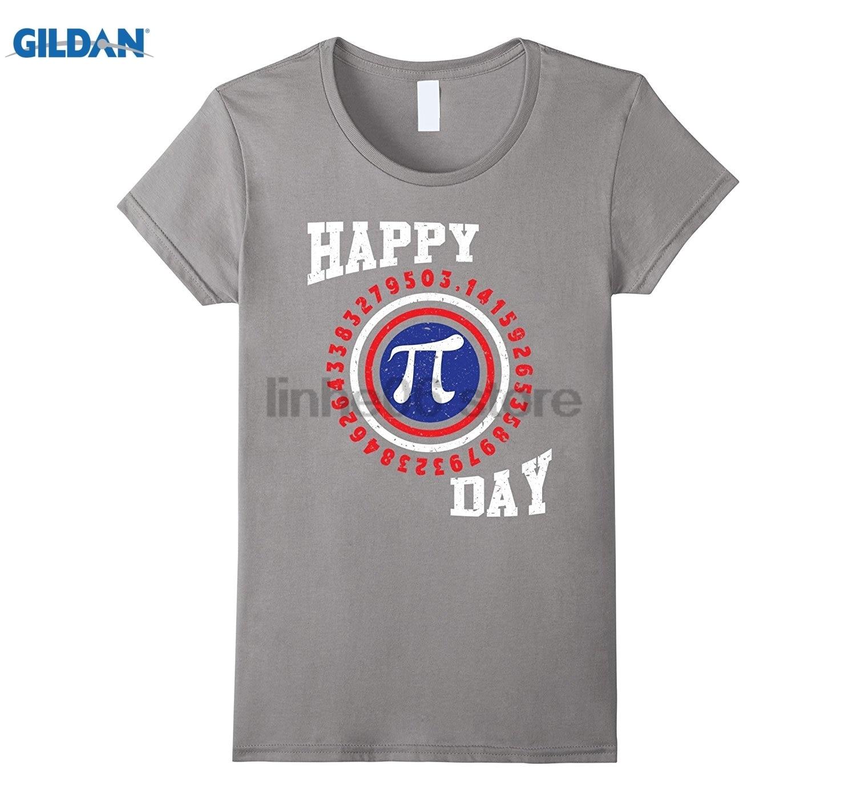 GILDAN Happy Pi Day Shirt- Funny Math T-Shirts Womens T-shirt
