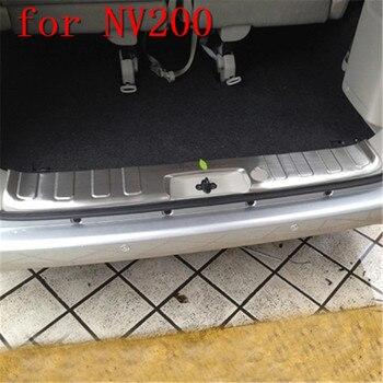 ステンレス鋼車のリアバンパープロテクターシルトランクリアガードトレッドプレートペダル日産 NV200 用カースタイリング
