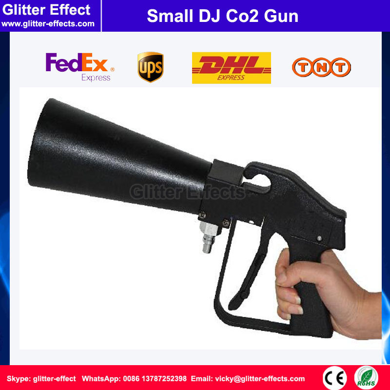 Special effect disco Mini fog machine Hand-hold portable night club bar stage party music show small DJ Co2 gun swing co2 jet special effect stage show dj club sway column fog machine theater swing co2 machine