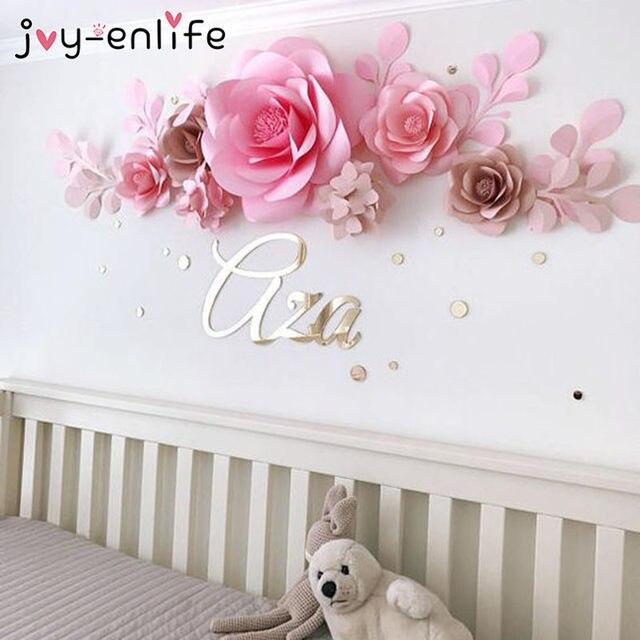 online shop joy enlife 2pcs 20cm diy paper flowers backdrop decor