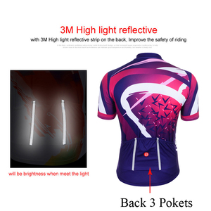 Image 5 - Women Cycling Clothing Set 2020 Summer Pro Team MTB Bike Clothes Ladies Cycling Jersey Sets Anti UV Bicycle Helmet Cuffs Gloves
