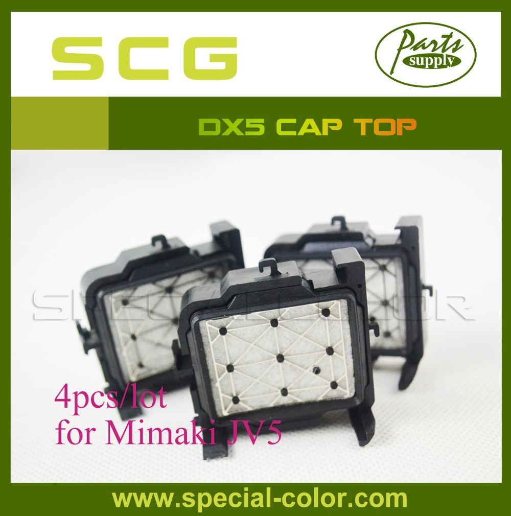 4pcs/lot Best Price JV5 Capping Station Mimaki Parts Cap Top best price for mimaki sj740 printer printhead cap station