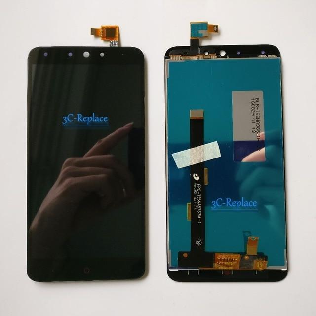 Posteriore di alta Qualità NUOVO 5.5 pollice Per QiKU 360 N4 Display LCD + Touch Screen Digitizer Assembly di Ricambio