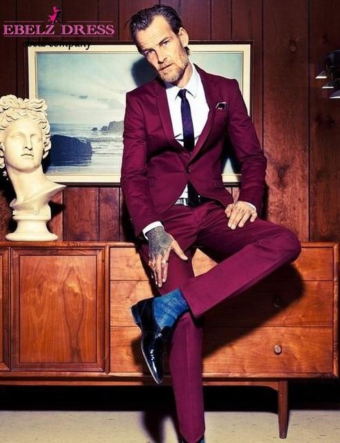 formale maschio gli q86 uomo da traje 2015 de vestito dello vino slim hombre rosso sposo elegante matrimonio nuovo italiano arrivo uomini business per fit 2EWIDH9