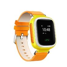 สมาร์ทโทรศัพท์นาฬิกาเด็กเด็กนาฬิกานาฬิกาข้อมือหน้าจอสัมผัสGSM GPRSติดตามจีพีเอสป้องกันการสูญเสียS Mart W Atchเด็กยามสำหรับAndroi