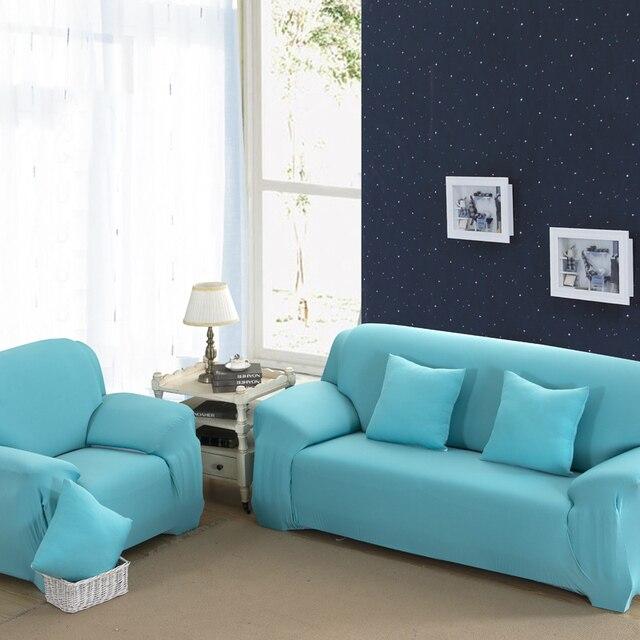Exceptionnel 16 Colours Sofa Cover Stretch Fabric Elastic Corner Slipcover 1/2/3/4