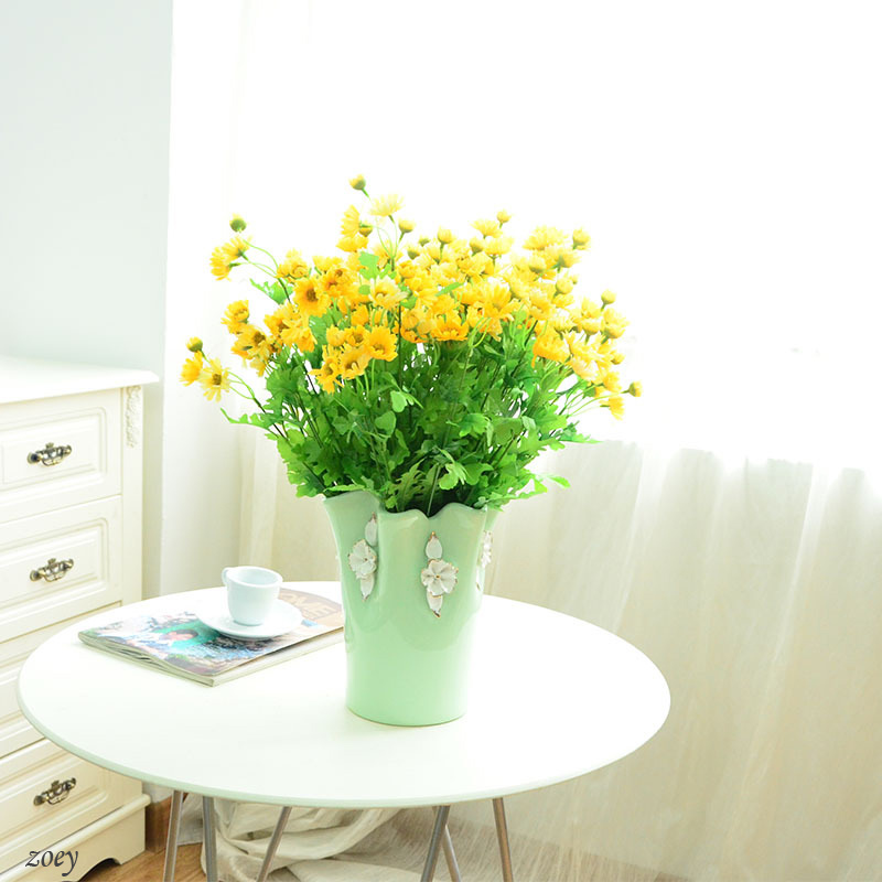 11 heads fake flower artificial peacock spring Artificial flower decoration for home