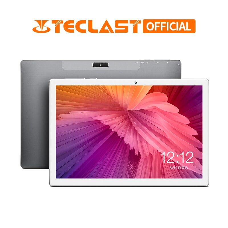 10.1 Inch 1920 X 1200 Teclast M30 Android 8.0 Tablet PC 3GB RAM 64GB ROM MT6797 X27 Deca Core Dual 4G Phone Tablets 7500mAh GPS