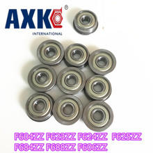 Thrust Bearing 10pcs Flange Ball Bearings F604zz F623zz F624zz F625zz F684zz F688zz F606zz 3d Printers Parts Pulley Wheel Part 10pcs f625 2z f625zz f625zz f625 zz flanged flange deep groove ball bearings 5 x 16 x 5mm free shipping for 3d printer