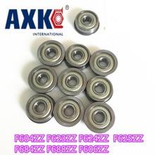 купить Thrust Bearing 10pcs Flange Ball Bearings F604zz F623zz F624zz F625zz F684zz F688zz F606zz 3d Printers Parts Pulley Wheel Part дешево