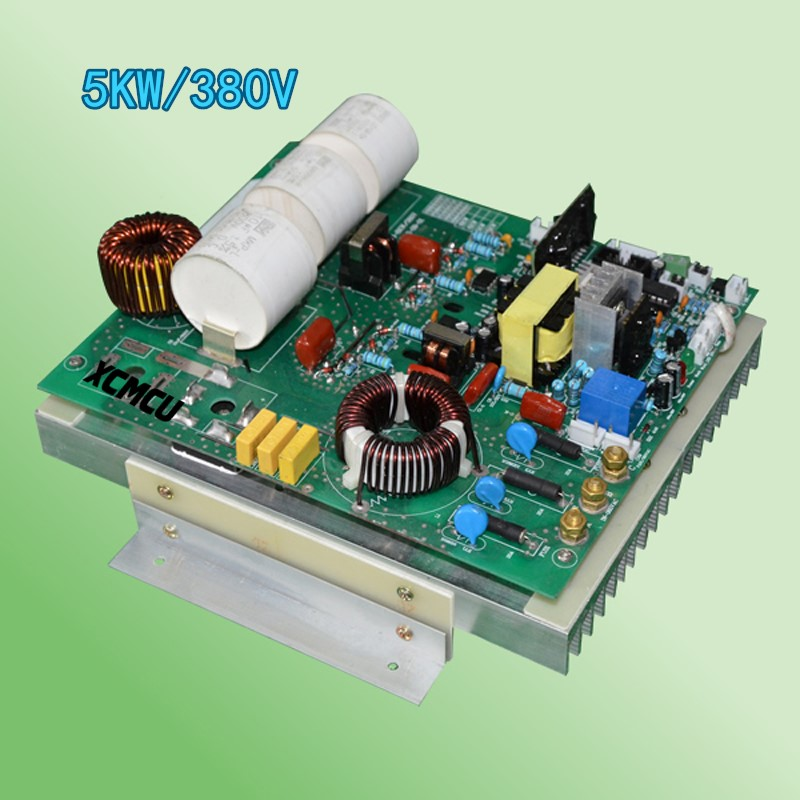 Three-phase 5KW 380V electromagnetic heater motherboard 5000W pipe electromagnetic heater charcoal heater 5kw gasoline generator accessories 6 5kw ec6500 copper rotor three phase motor 380v