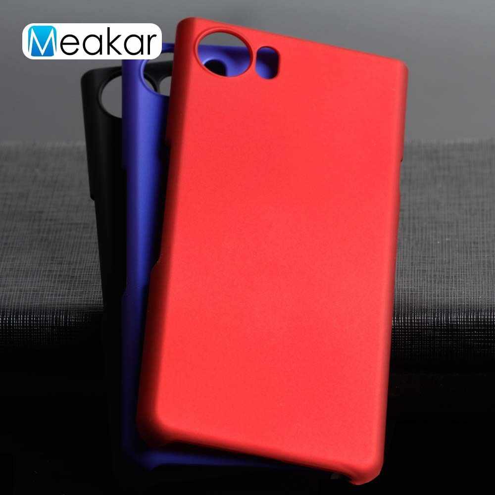 Grind arenaceous Hard Plastic shell 4 5For Blackberry keyone Case For  Blackberry keyone Cell Phone Back Cover Case