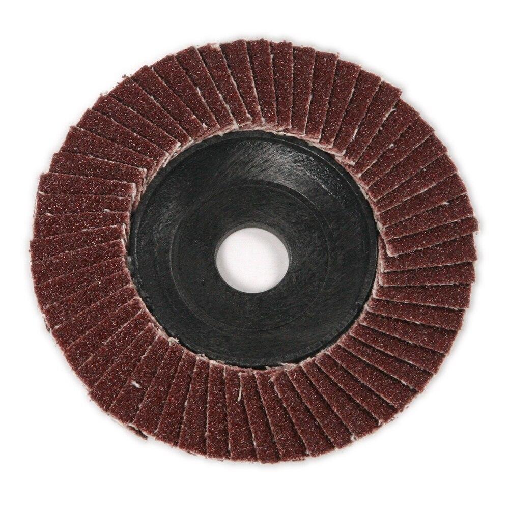 Nya 10stk / set poleringshjul Grit 4 '' Elektrisk vinkelslipare Klapp - Slipande verktyg - Foto 4