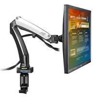 NB 27inch Air Press Gas Strut Lcd Tv Table Mount Monitor Desk Support Led Bracket