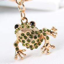 Keyring Keychain Handbag Charm Animal Crystal Lovely Purse Car-Key Party-Wedding-Birthday-Gift