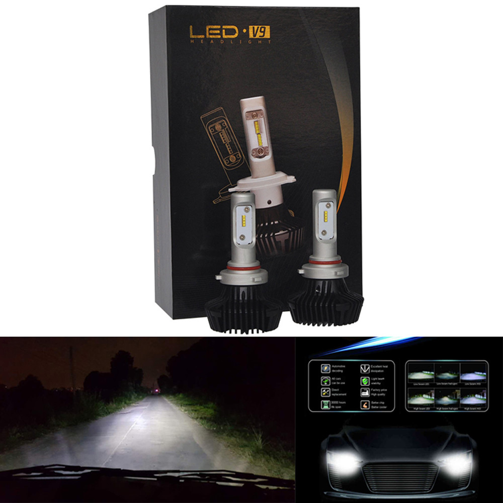 Car LED lights For Philips 60W 12000LM 9005/9006 Chips Headlight Kit Beam Bulbs 6500K Accessories