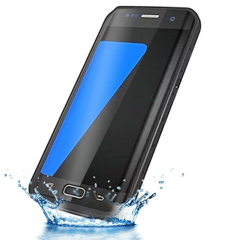 Pour galaxy S7 bord Boîtier Étanche D'eau Saleté Antichoc Sous-Marine 2 m Pour Samsung Galaxy S7 bord G935 G935F preuve De neige Cas