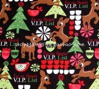 140x100 سنتيمتر و الغزلان و شجرة القطن نسيج لعيد الميلاد الديكور خليط DIY-AFCK064