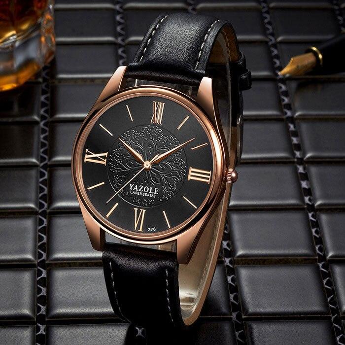 Yazole 2018 reloj de cuarzo vestido del negocio mujeres relojes señoras famosa marca reloj mujer reloj montre Femme Relogio feminino