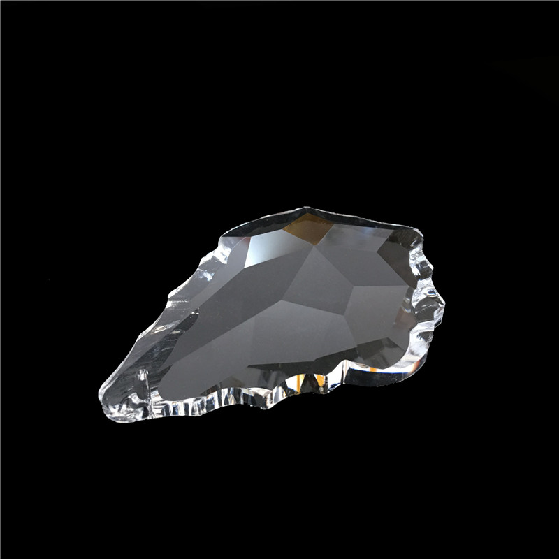 10tk / partii 63mm kristall vaherleht lühtrid ripatsid / kristall - Pühad ja peod - Foto 2