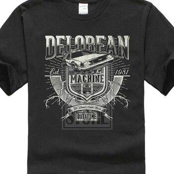 Delorean Time Machine T Shirt Fox Back To The Future Shirt Michael Car