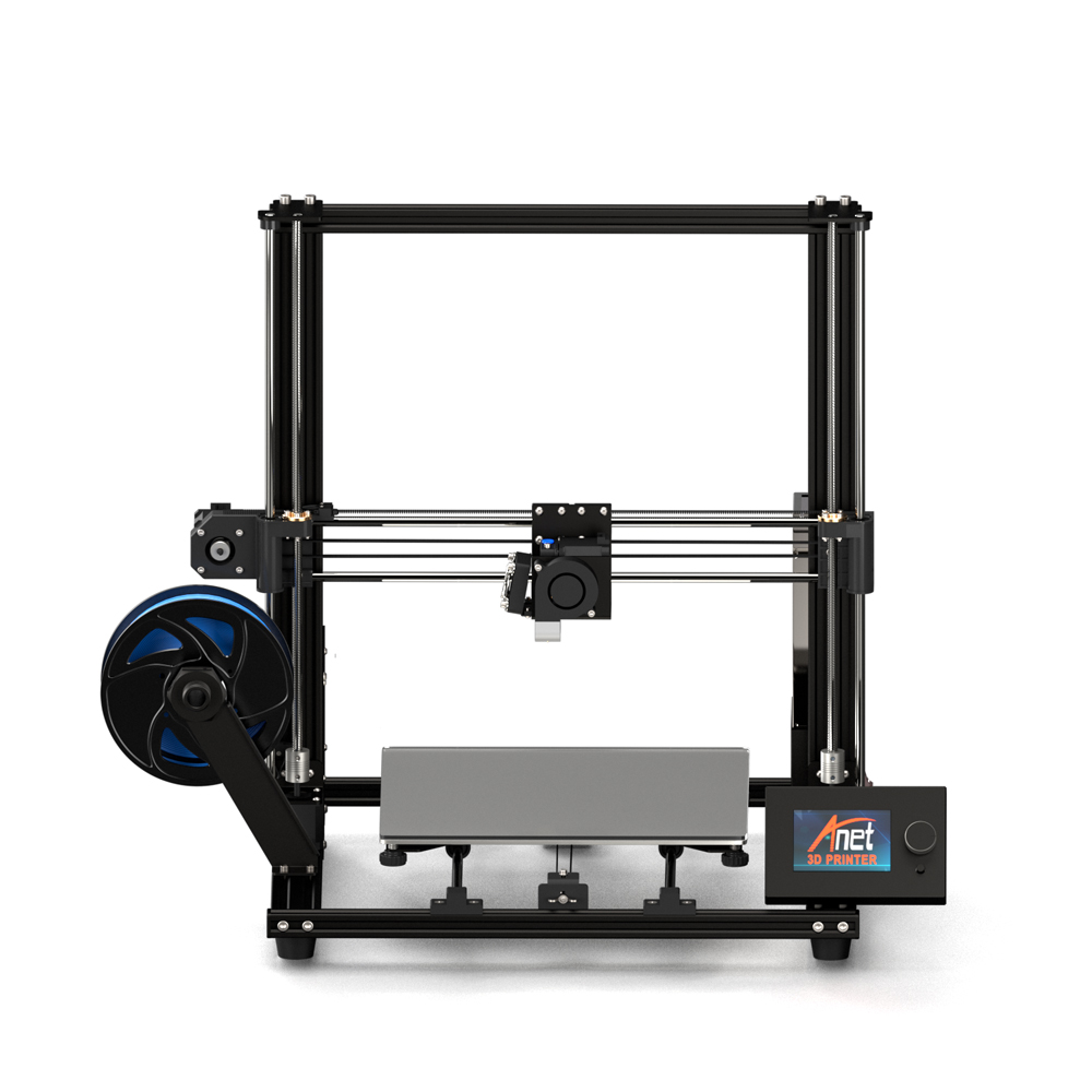 Anet A8 Plus Home 3D Printer High Precision Upgraded Hotbed Industry 3d printer DIY Kit Version impressora with PLA Filament