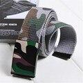 LGFD2016CB1  Camouflage  polyester cotton canvas webbing belts for men kids jeans belt