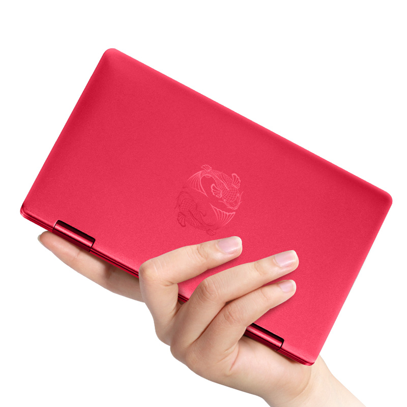 "Newest Red Style Tablet PC one netbook 7""Pocket Computer Intel m3 8100Y CPU with Fingerprint Recognition Bluetooth IPS 8G 512G"