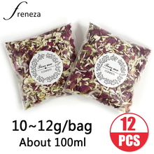 10g/bag Natural Wedding Confetti FRENEZA Dried Flower Petals Pop Biodegradable Rose Petal and Party Decoration