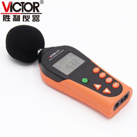 VICTOR VC824 Medidor de Nível de Som, instantânea 30-130 dBA Medição de decibéis de Ruído