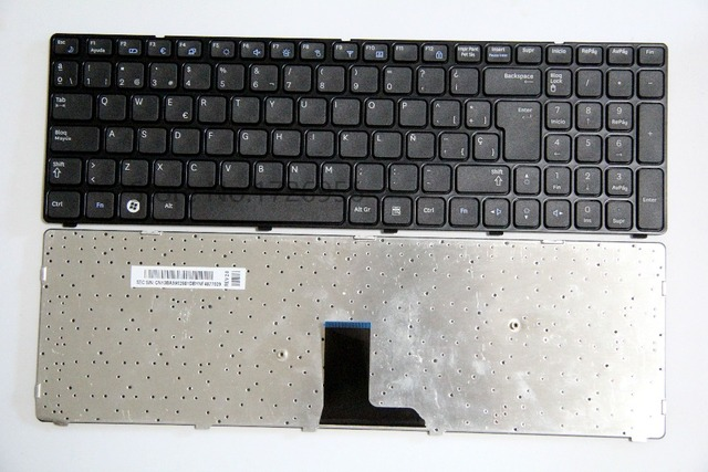8068bde67d7 NEW Laptop replacement keyboard for SAMSUNG R580 R590 R590E R578 E852 SP/LA  Spain layout
