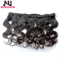 JVH Brazilian Body Wave Hair Bundles 100% Human Hair Weave Remy Hair Extensions Natural Color 12 28inch