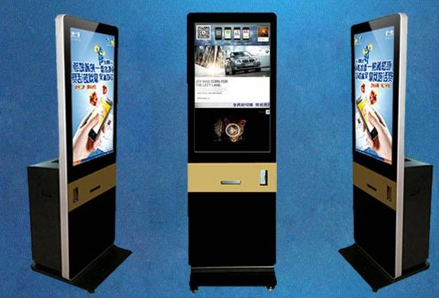 US $1999 0 |21 5 42 inch Digital Instant Lcd TFT HD display self service  Instagram lobby photo booth kiosk with 3G VGA/DVI/HDMI/printer-in Car  Parking