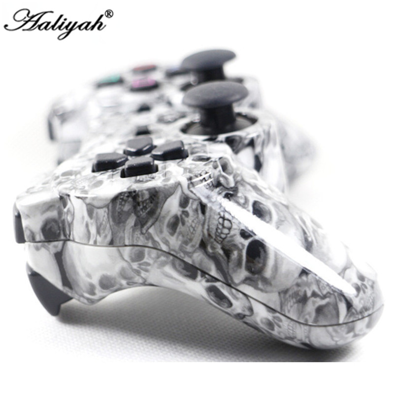Aaliyah Camouflage Wireless Bluetooth Game Controller SIXAXIS Joystick Gamepad For Playstation 3 PS3 5Colors 3cleader® wireless controller for ps3 playstation 3 camouflage 1