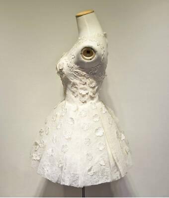 8c139fd4f9df8 US $65.9 |Elegant Sexy Women Vintage Lace Floral Princess Tutu Dress Party  Bridesmaid Short Design Ball Gown Dress Vestido De Festa-in Dresses from ...