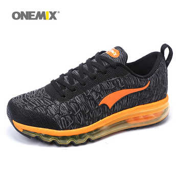 ONEMIX Men Running Shoes Breathable Outdoor Walking Sport Shoes Male Athletic Sports Sneakers Man Trainers Zapatillas Gym shoes - SALE ITEM Sports & Entertainment