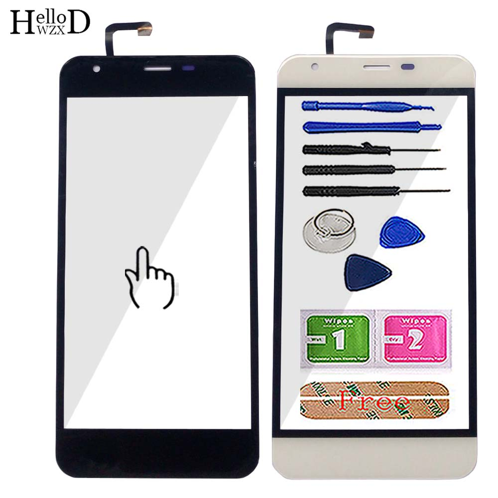 5'' Touch Screen Panel For <font><b>Oukitel</b></font> <font><b>K7000</b></font> Touch Screen Glass Digitizer Panel Front Glass Sensor Mobile Phone Tools 3M Glue image