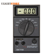 Best price CM7115A Practical Capacitance Capacitor Meter Tester Digital Multimeter with Test Leads
