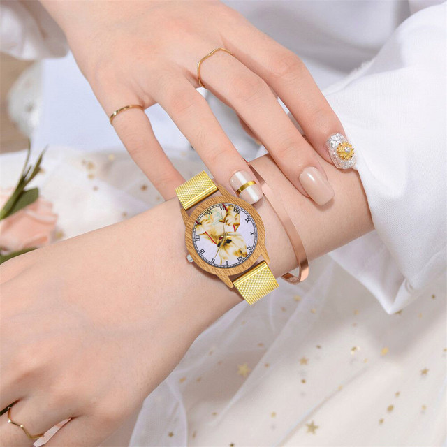 Moda śliczne kobiety zegarek kot/Deer/ryby/motyl zwierząt druku analogowe zegarek zegarek kwarcowy pasek skórzany koreański pani student zegarek dla pary