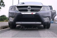 Front Bumper Protector Guard Trim Cover For Dodge Journey/Jcuv 2011 2014 High Quality