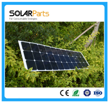 100W high efficiency semi flexible solar panels solar modules for RV Boat Golf cart Marine Yachts