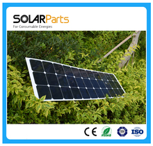 100W high efficiency semi- flexible solar panels solar modules for RV/Boat/Golf cart/Marine/Yachts/Home use