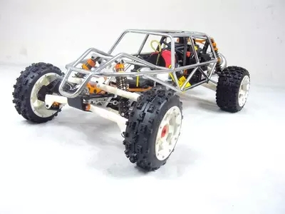 rc car metal roll cage for 1/5 scale HPI Rovan Baja 5B rovan baja alloy roll cage in black 95003